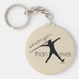 Cadeau de porte - clé de lanceur de javelot porte-clés