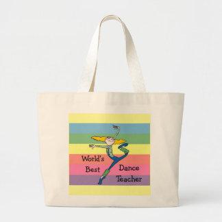 Cadeau de professeur de danse sacs fourre-tout