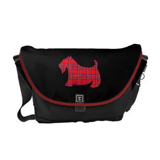 Cadeau de sac de voyage de messager de Terrier Besaces