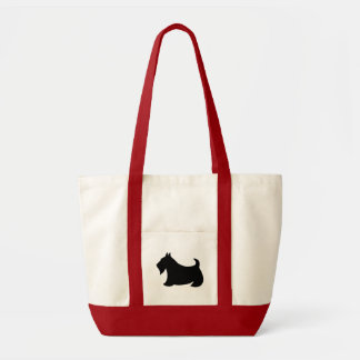 Cadeau de sac fourre-tout à chien de Terrier