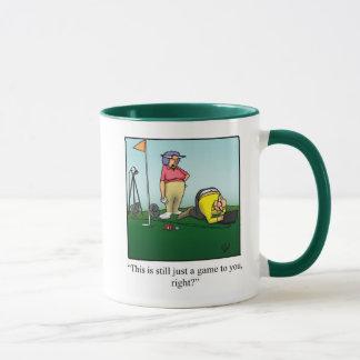 Cadeau de tasse d'humour de golf