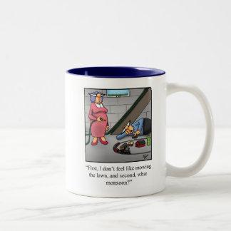 Cadeau de tasse d'humour de modèle de train