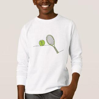 Cadeau de tennis de l'amant | de tennis t-shirt
