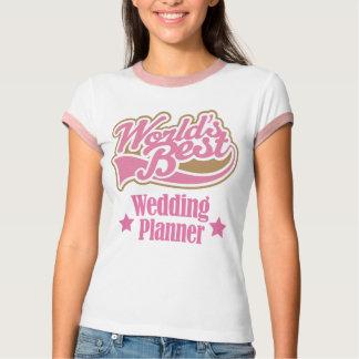 Cadeau de wedding planner (mondes meilleurs) t-shirts