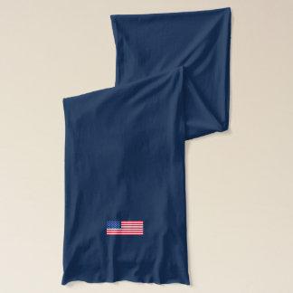 Cadeau d'écharpe de l'hiver des hommes patriotes écharpe