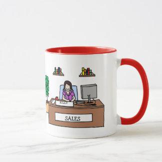 Cadeau d'équipe de ventes - tasse personnalisable