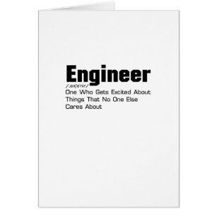 Cadeau humoristique pour ingenieur