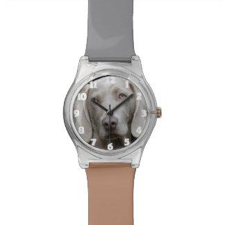 Cadeau drôle de montre de photo de chien montres