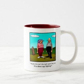 Cadeau drôle de tasse d'humour de golf