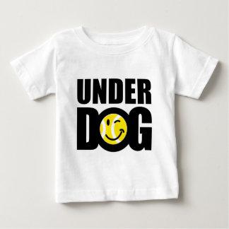 Cadeau drôle de tennis avec dire humoristique de t-shirt pour bébé