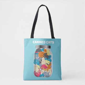 Cadeau drôle en boîte d'amoureux de les chats de sac
