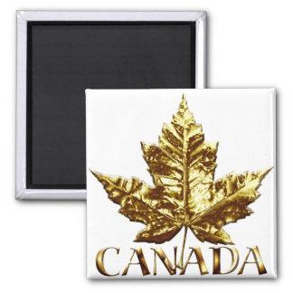 Cadeau du Canada d'or d'aimant de réfrigérateur de