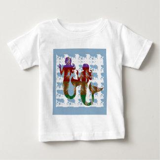 CADEAU étrange de vie marine de nature d'aventure T-shirts