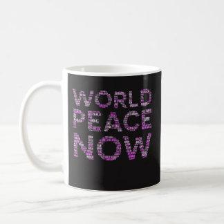 Cadeau féministe drôle de tasse de café de paix du