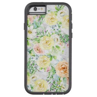 Cadeau fort de coque ipad d'iPhone de fleur pour