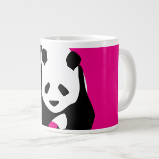 Cadeau fuchsia de faune de zoo de roses indien mig mug jumbo