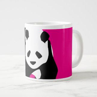 Cadeau fuchsia de faune de zoo de roses indien mug jumbo
