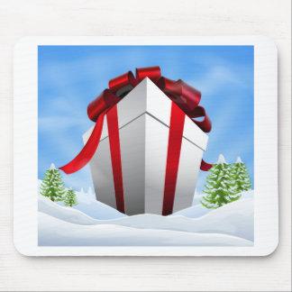 Cadeau géant de Noël Tapis De Souris