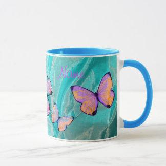 Cadeau Girly ! La tasse de papillon, ajoutent le