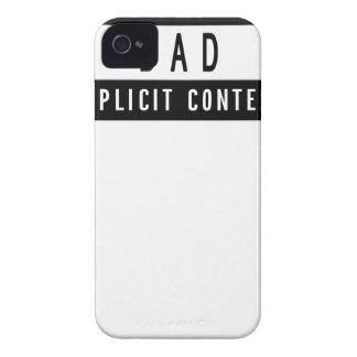 Cadeau parfait de meilleur T-shirt drôle de papa Coque iPhone 4