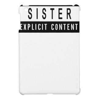 Cadeau parfait de meilleur T-shirt drôle de soeur Étuis iPad Mini