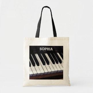 cadeau personnalisé de musique sac