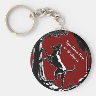 Cadeau personnalisé par porte - clé de chien de porte-clés