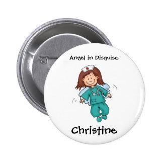 Cadeau pour l'infirmière - personnalisez avec le n badge
