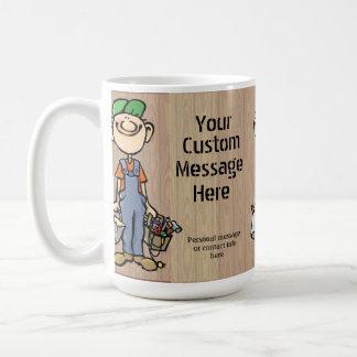 Cadeau pratique personnalisé de peintre de mug