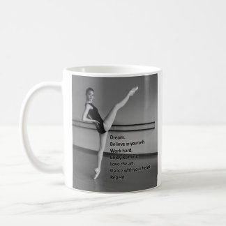 Cadeau rêveur de danse pour des danseurs mug