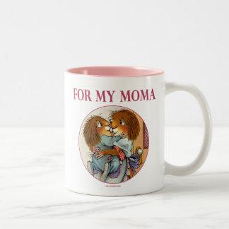 Cadeau spécial pour Moma Mug Bicolore