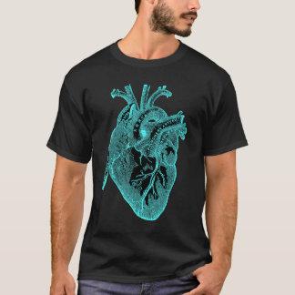 Cadeaux anatomiques de geek vintage de HEART/Cool T-shirt