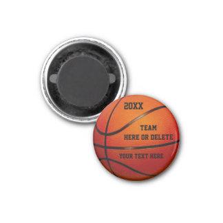 Cadeaux bon marché de basket-ball PERSONNALISÉS Magnets Pour Réfrigérateur