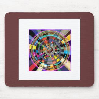 CADEAUX colorés graphiques de roue de mandala de C