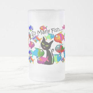 Cadeaux d amoureux de les chats de tant de poisso tasse