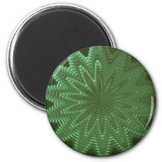 Cadeaux d étoile d étincelle de vert de VELOURS - Aimant