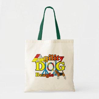 Cadeaux d'agilité de beagle sac