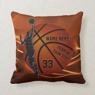 Cadeaux d'aîné de basket-ball de coussin de