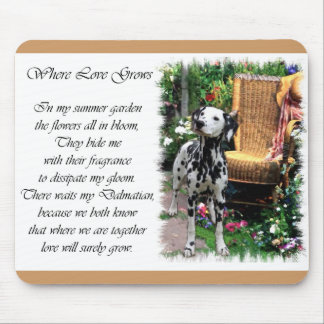 Cadeaux dalmatiens d'art tapis de souris