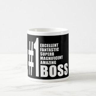 Cadeaux d'anniversaires de patrons : Patron du Mug Blanc