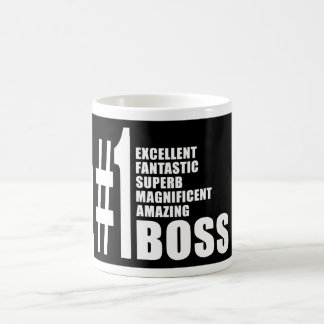 Cadeaux d'anniversaires de patrons : Patron du num Mug Blanc