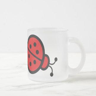 Cadeaux d'art de coccinelles tasse