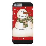 Cadeaux de bonhomme de neige coque iPhone 6 barely there