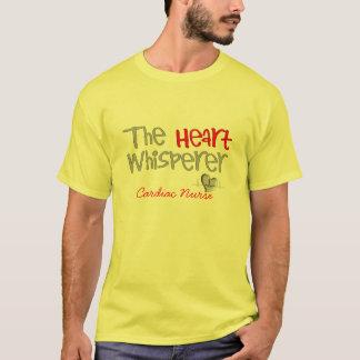 """Cadeaux de cardiologue """"le Whisperer de coeur """" T-shirt"""