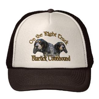 Cadeaux de Coonhound de Bluetick Casquettes De Camionneur