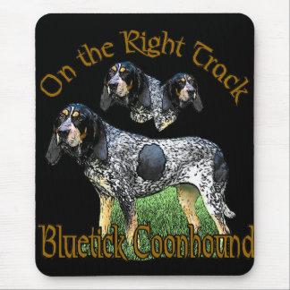 Cadeaux de Coonhound de Bluetick Tapis De Souris