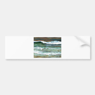 Cadeaux de décor d'art de surf de vagues de plage  adhésif pour voiture