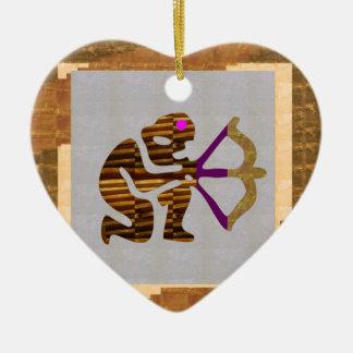Cadeaux DE LA MEILLEURE QUALITÉ d'or VINTAGE : TIP Ornement Cœur En Céramique