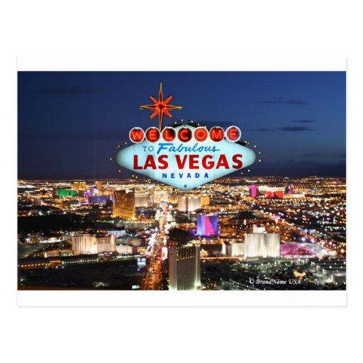 Cadeaux de Las Vegas Carte Postale