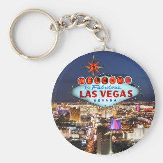 Cadeaux de Las Vegas Porte-clé Rond